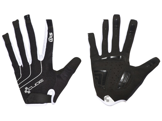 Cube Natural Fit Langfinger Handschuhe Damen Blackline